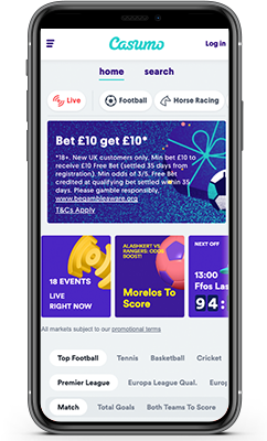 Casumo Sports Review 2021 - One Of The Best Betting Sites In India